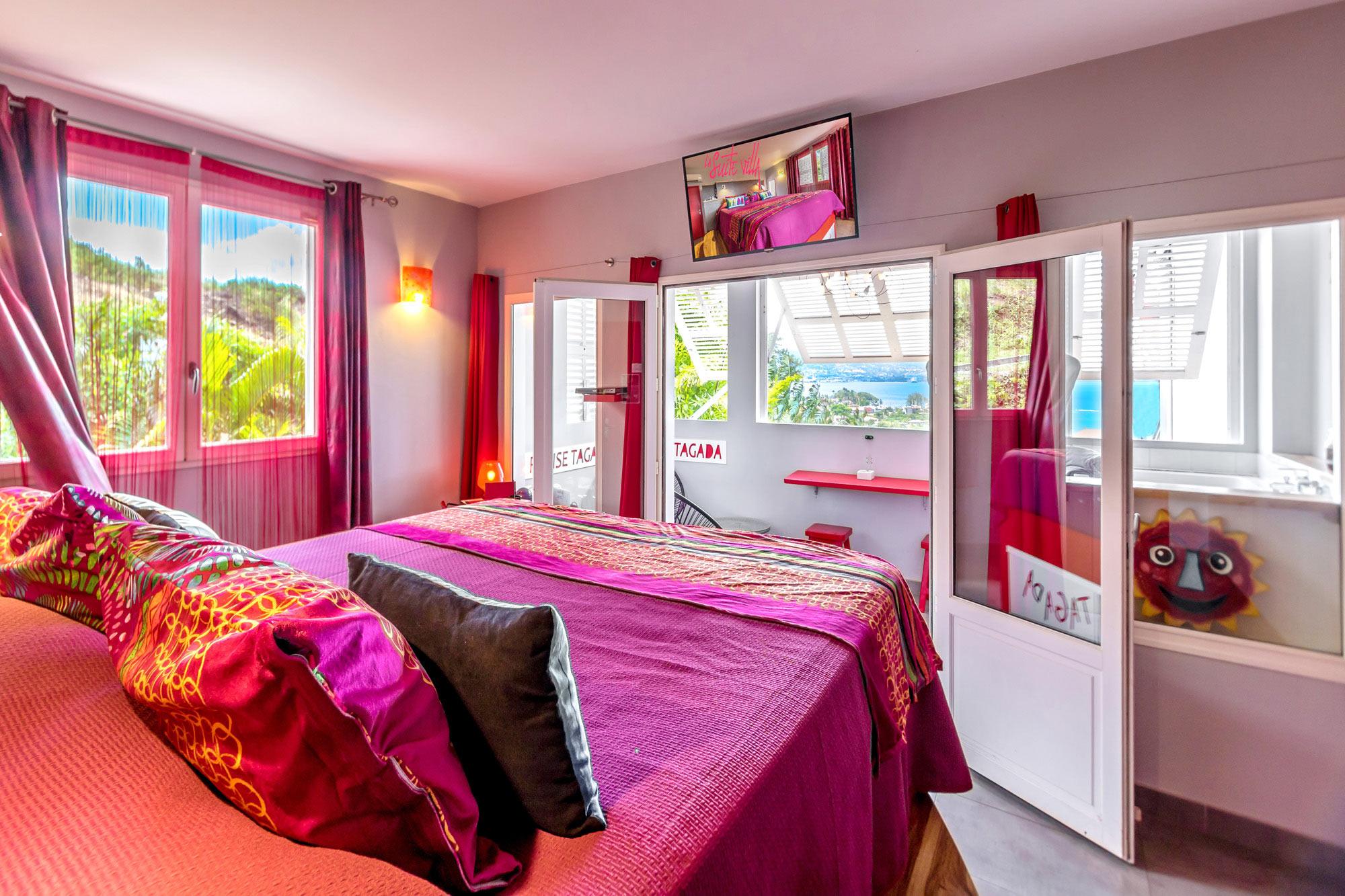 Hôtel de charme en Martinique avec vue mer des Caraïbes